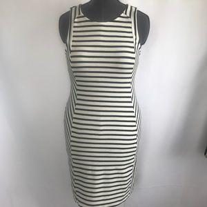 Old Navy Stripe Black & White Dress